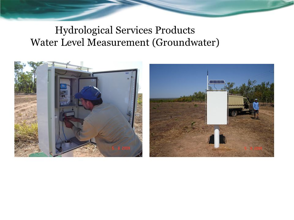 Hydrological Services Products Water Level Measurement (Groundwater)