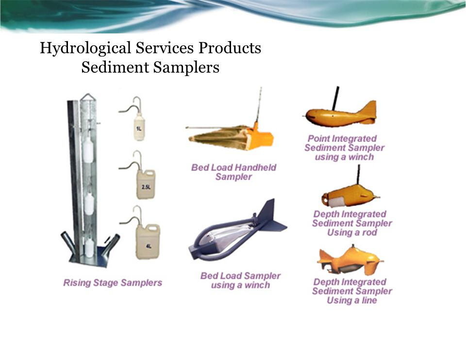 Hydrological Services Products Sediment Samplers