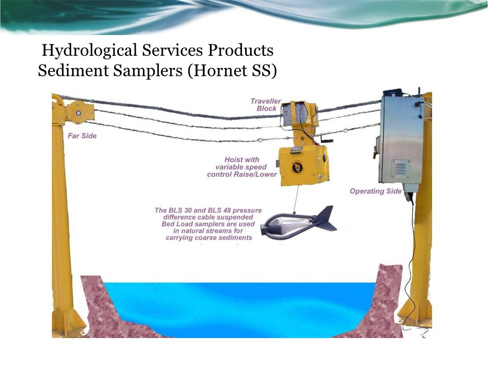Hydrological Services Products Sediment Samplers (Hornet SS)