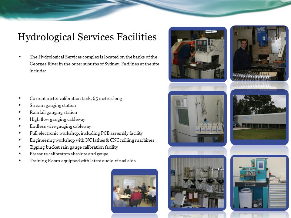 Hydrological Services Facilities