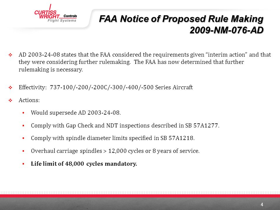 FAA Notice of Proposed Rule Making 2009-NM-076-AD