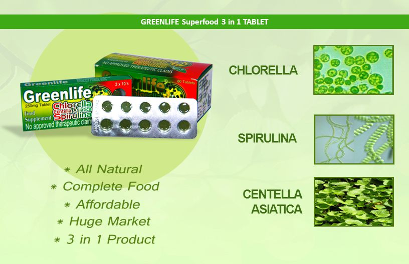 GREENLIFE Superfood 3 in 1 TABLET