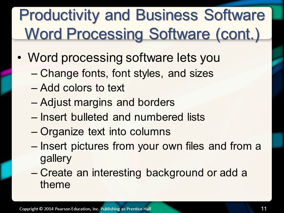 Productivity and Business Software Spreadsheet Software