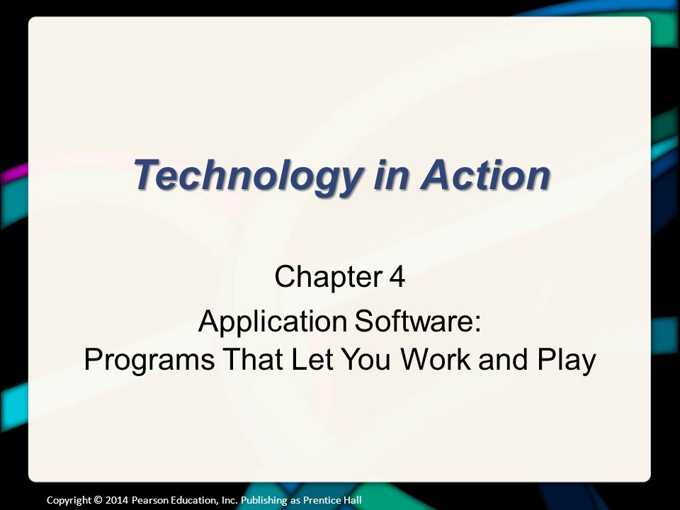 Chapter Topics The Nuts and Bolts of Software
