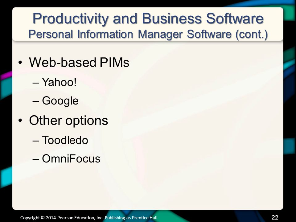 Productivity and Business Software Microsoft Office Productivity Software Features