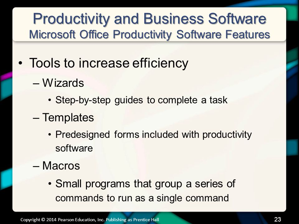Productivity and Business Software Personal Financial Software