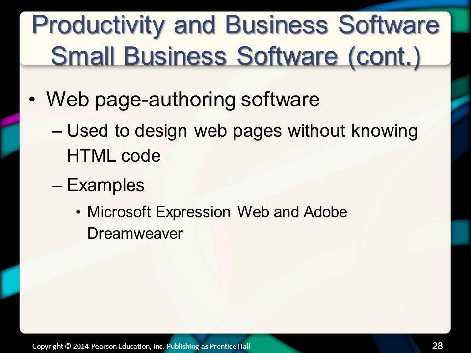Productivity and Business Software Software for Large and Specialized Businesses