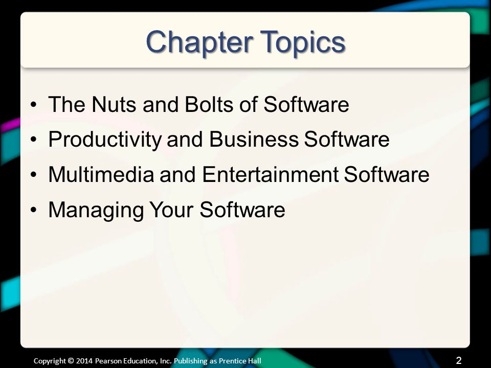 The Nuts and Bolts of Software