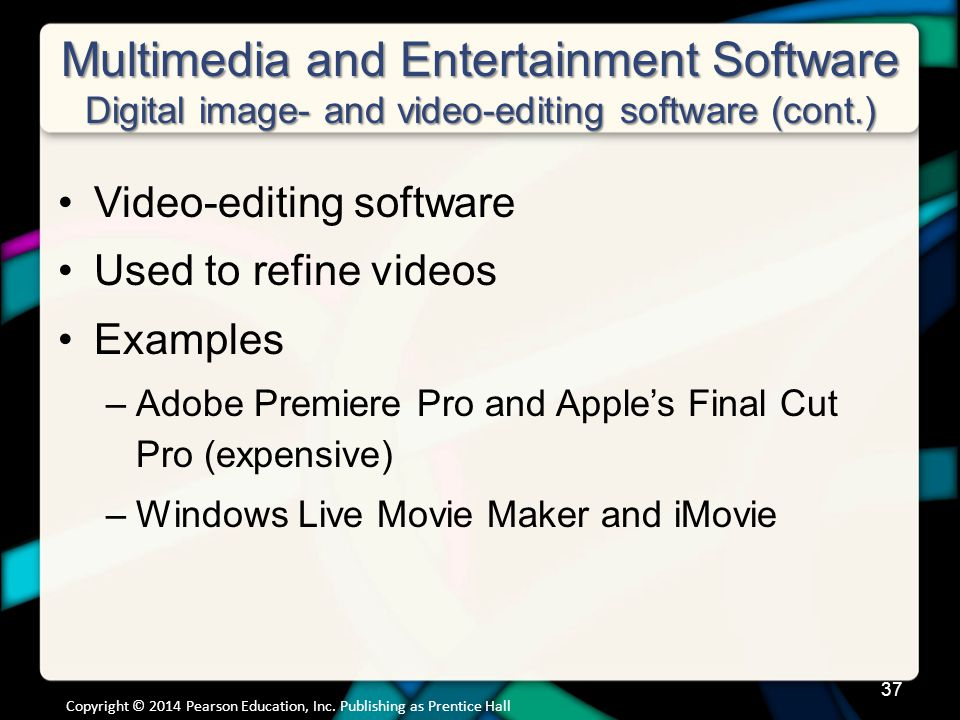 Multimedia and Entertainment Software Digital Audio Software