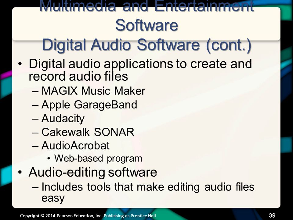 Multimedia and Entertainment Software Media Management Software