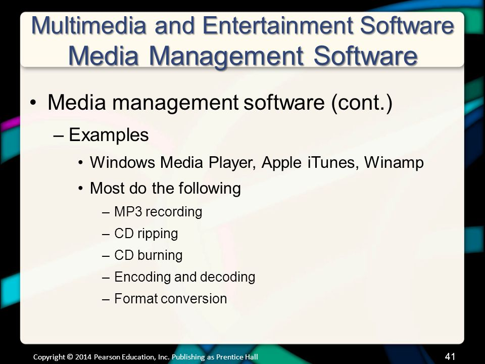 Multimedia and Entertainment Software Gaming Software