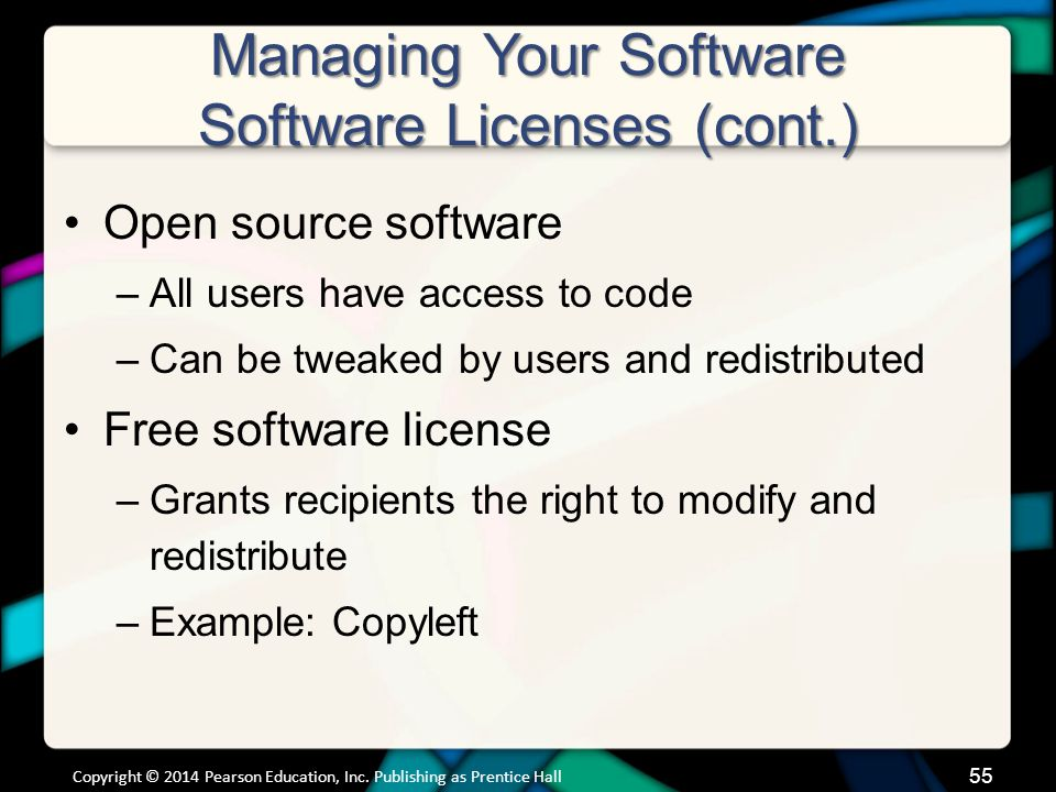 Managing Your Software Getting the Right Software for Your System