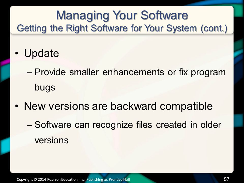 Managing Your Software Installing and Uninstalling Software