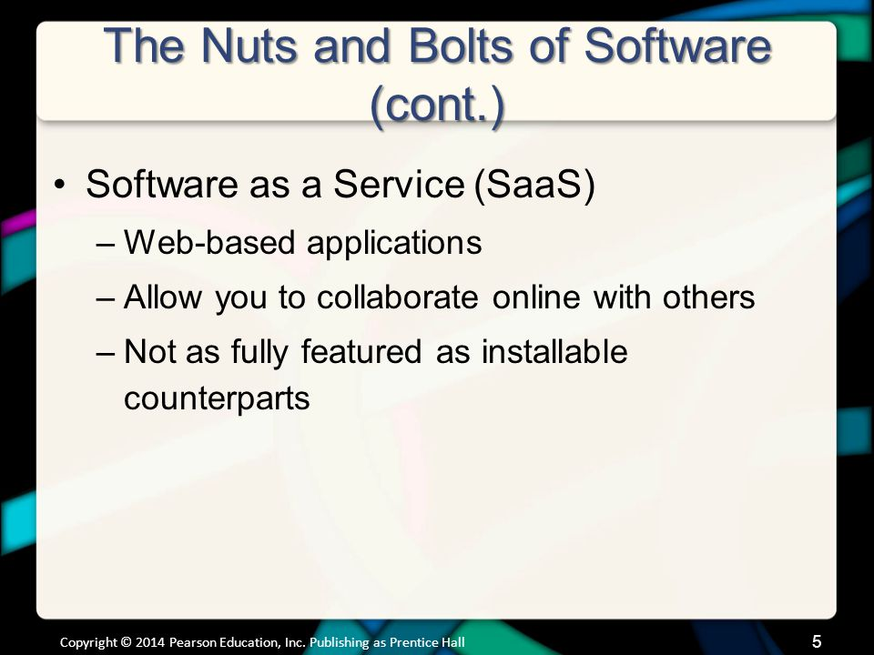 Productivity and Business Software