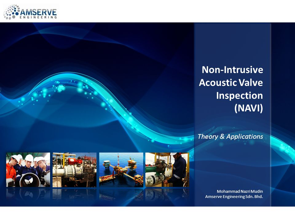 Non-Intrusive Acoustic Valve Inspection