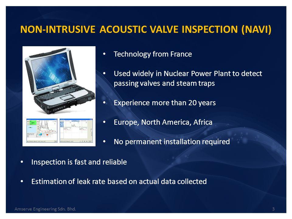 NON-INTRUSIVE ACOUSTIC VALVE INSPECTION (NAVI)