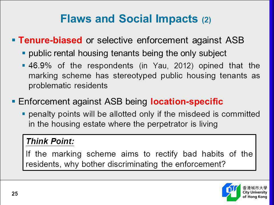 Flaws and Social Impacts (2)