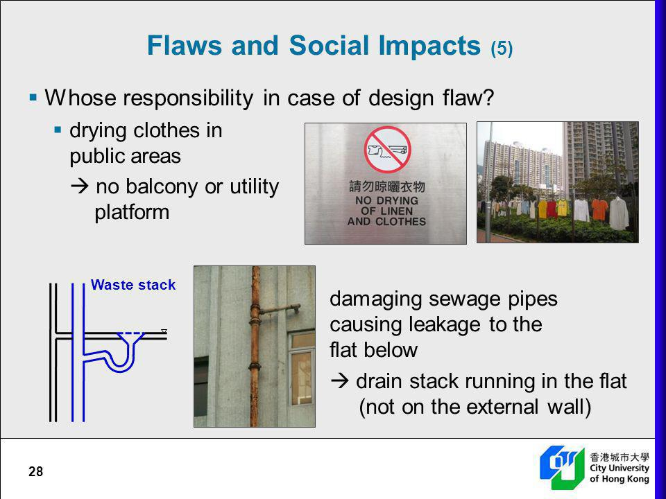 Flaws and Social Impacts (5)