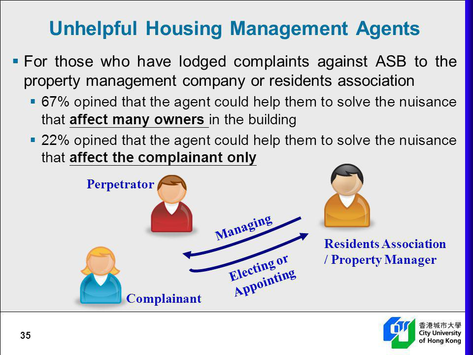 Unhelpful Housing Management Agents