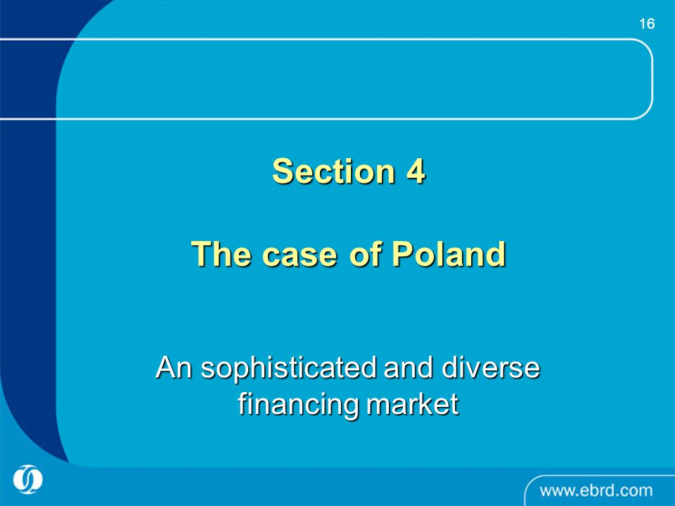Section 4 The case of Poland