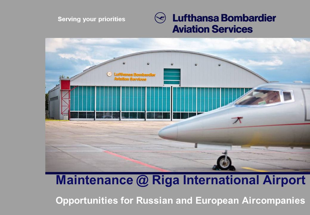 Maintenance @ Riga International Airport