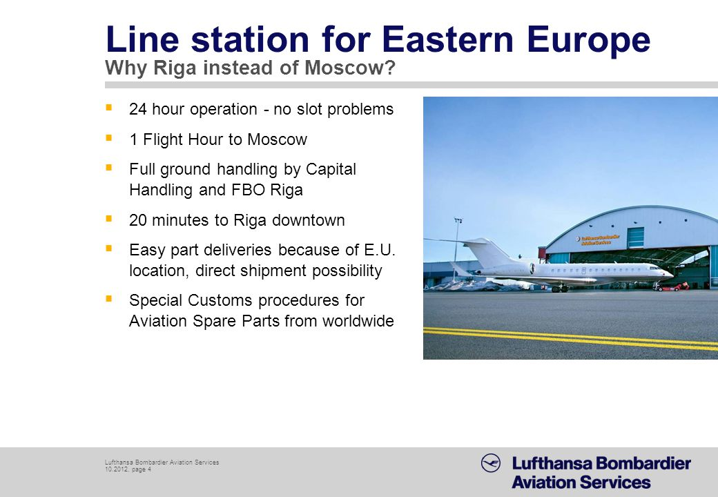 Line station for Eastern Europe