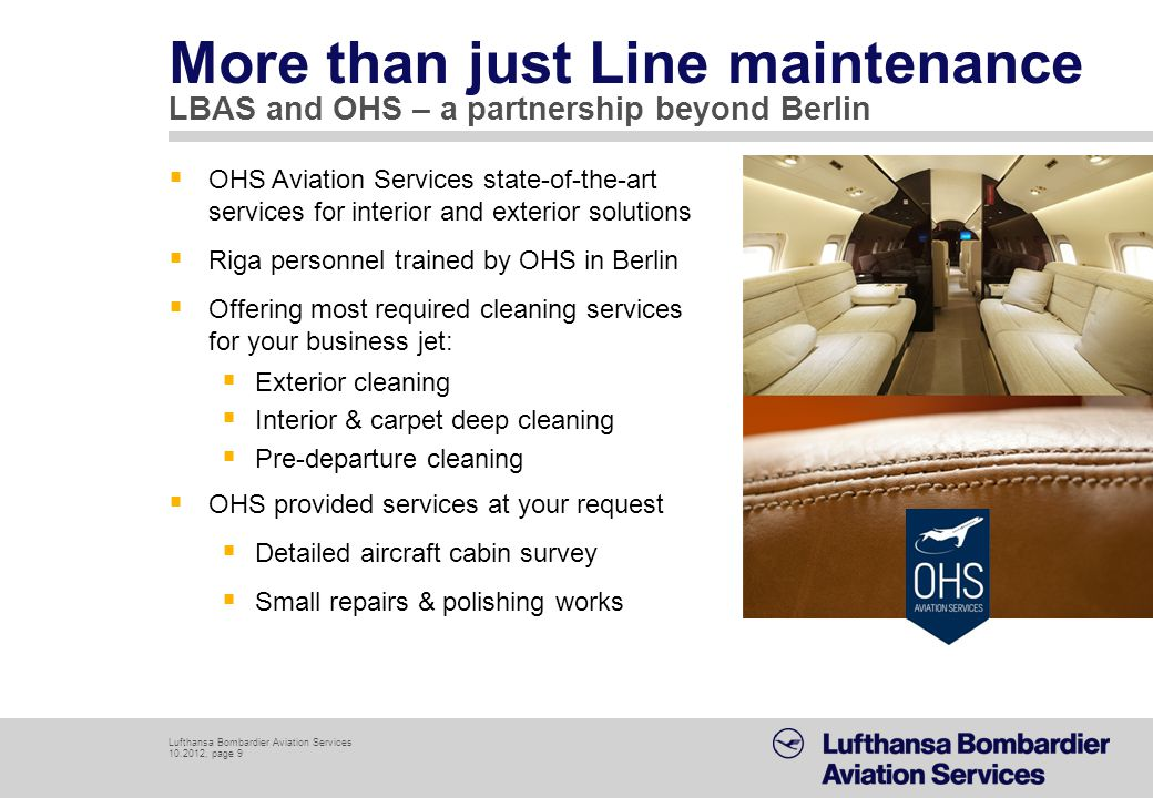 More than just Line maintenance