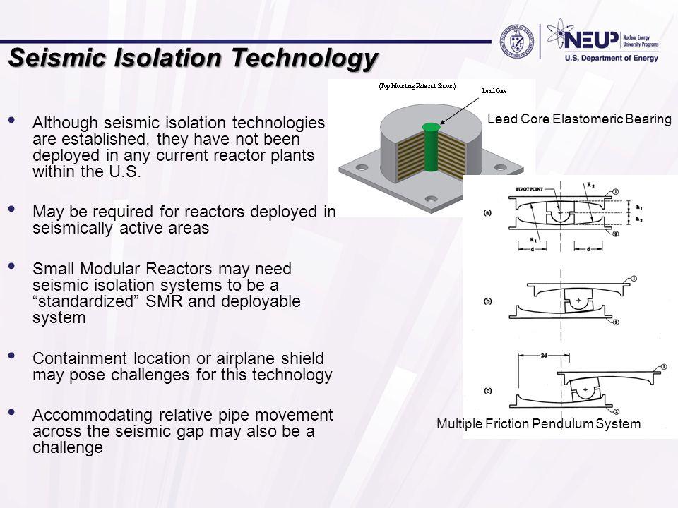 Seismic Isolation Technology