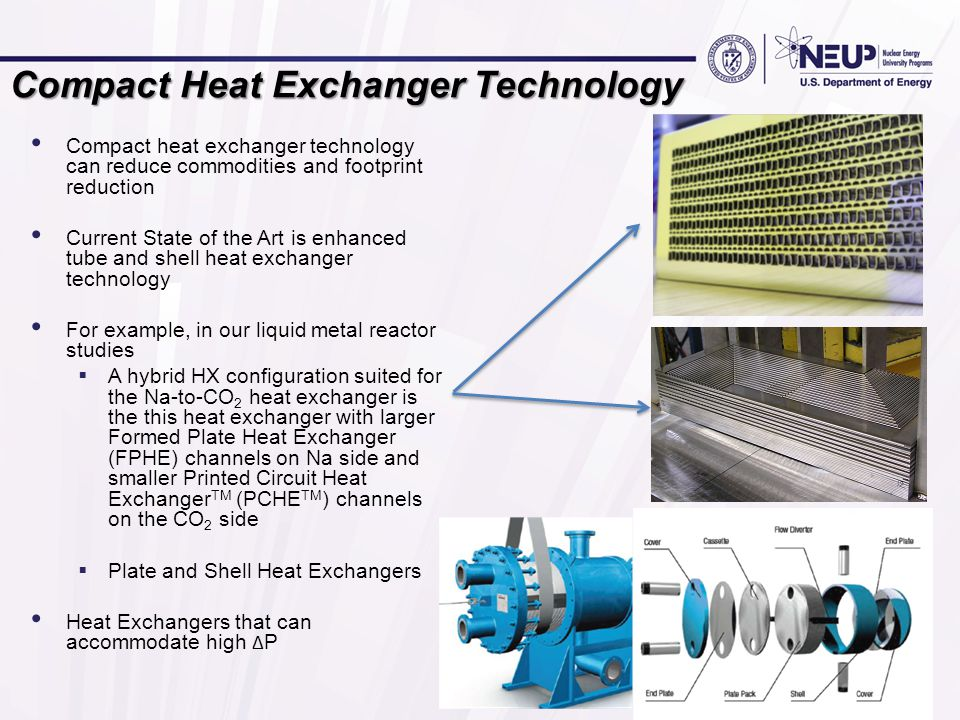 Compact Heat Exchanger Technology
