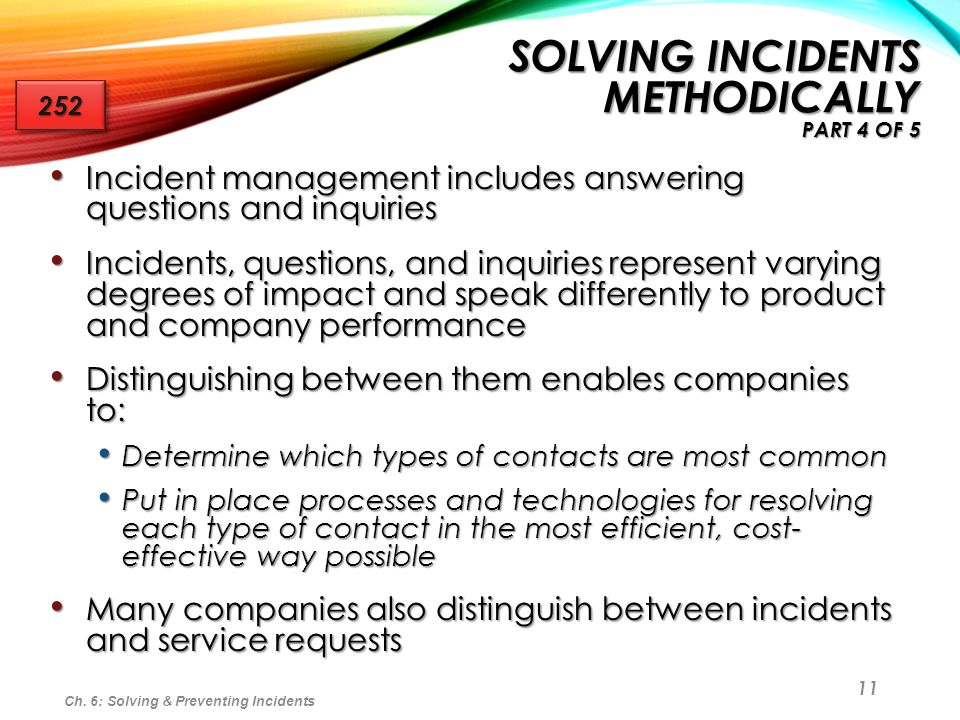 Solving Incidents Methodically part 4 of 5