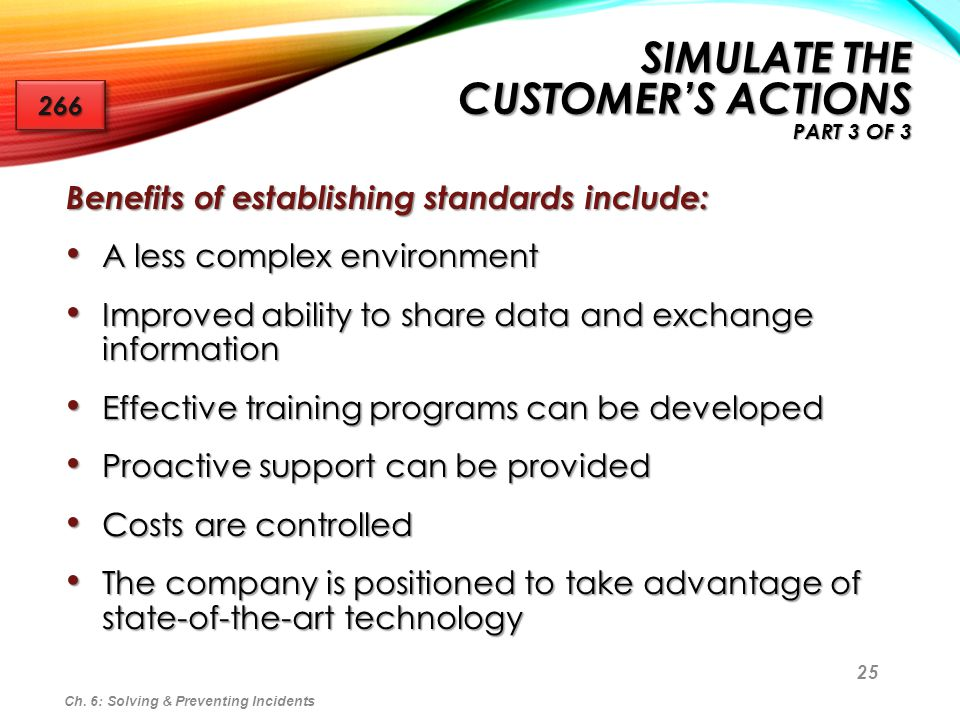 Simulate the Customer's Actions Part 3 of 3