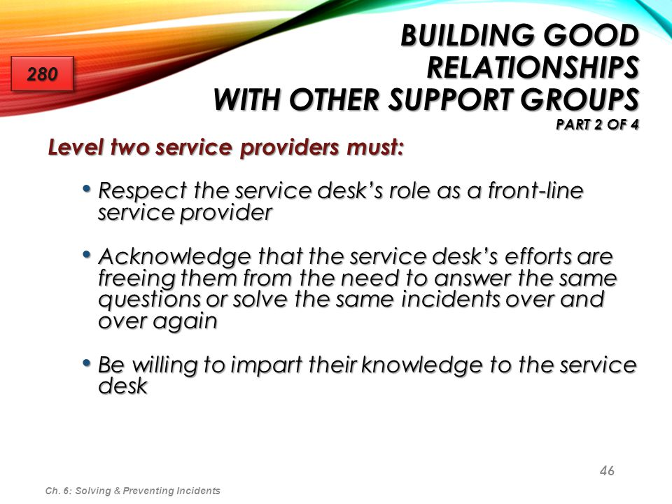 Building Good Relationships With Other Support Groups part 2 of 4