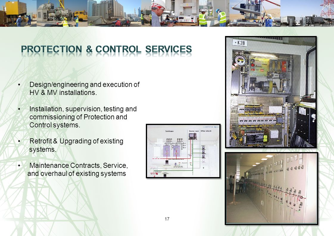 Protection & Control Services
