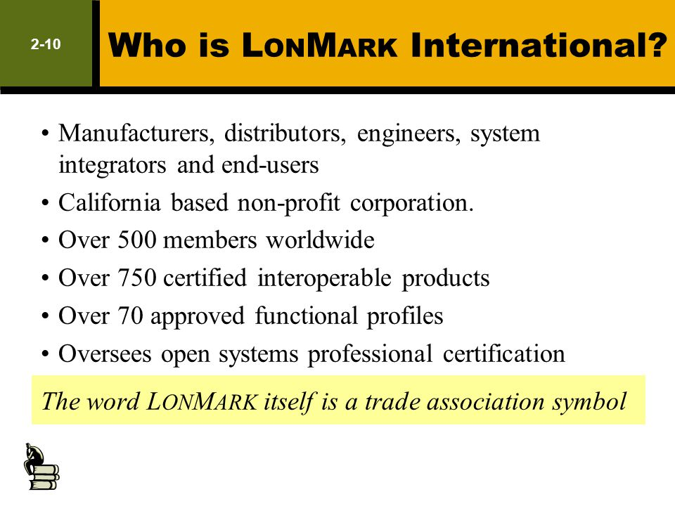 Who is LONMARK International