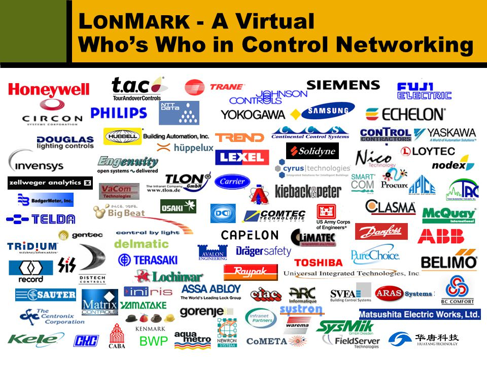 LONMARK - A Virtual Who's Who in Control Networking
