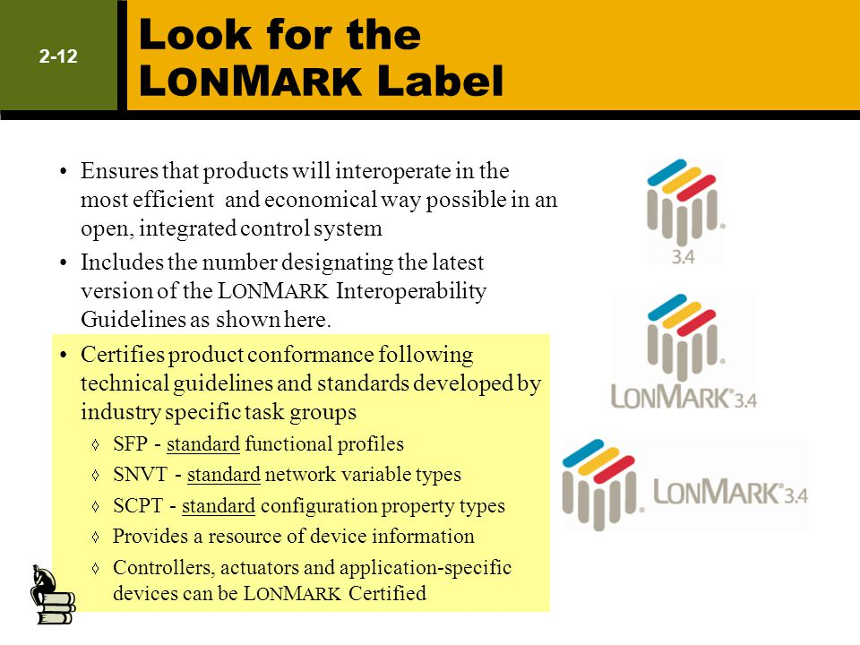 Look for the LONMARK Label