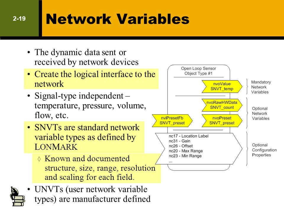 Network Variables LM Exam