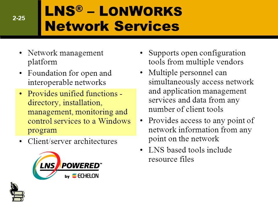 LNS® – LONWORKS Network Services