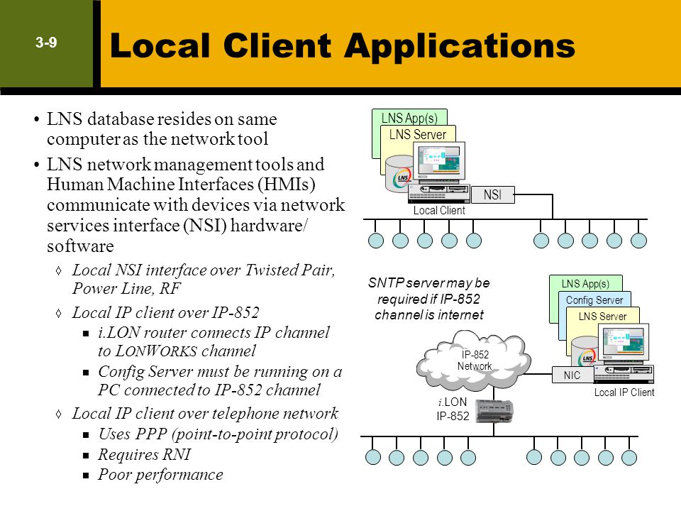 Local Client Applications