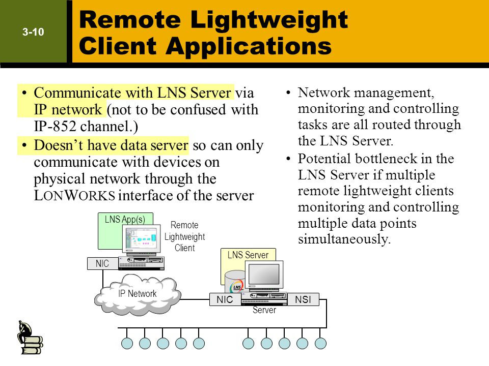 Remote Lightweight Client Applications