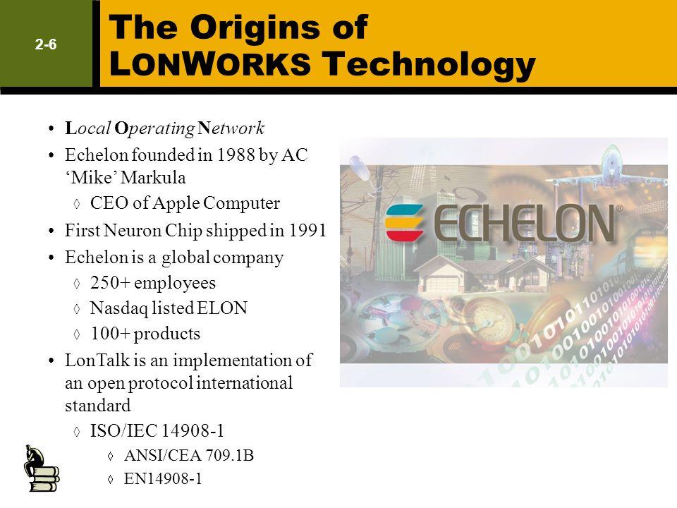 The Origins of LONWORKS Technology