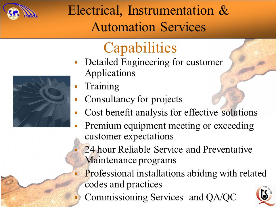 Electrical, Instrumentation &