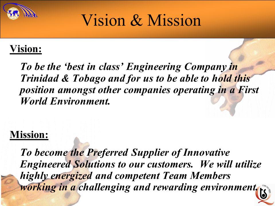 Vision & Mission Vision: