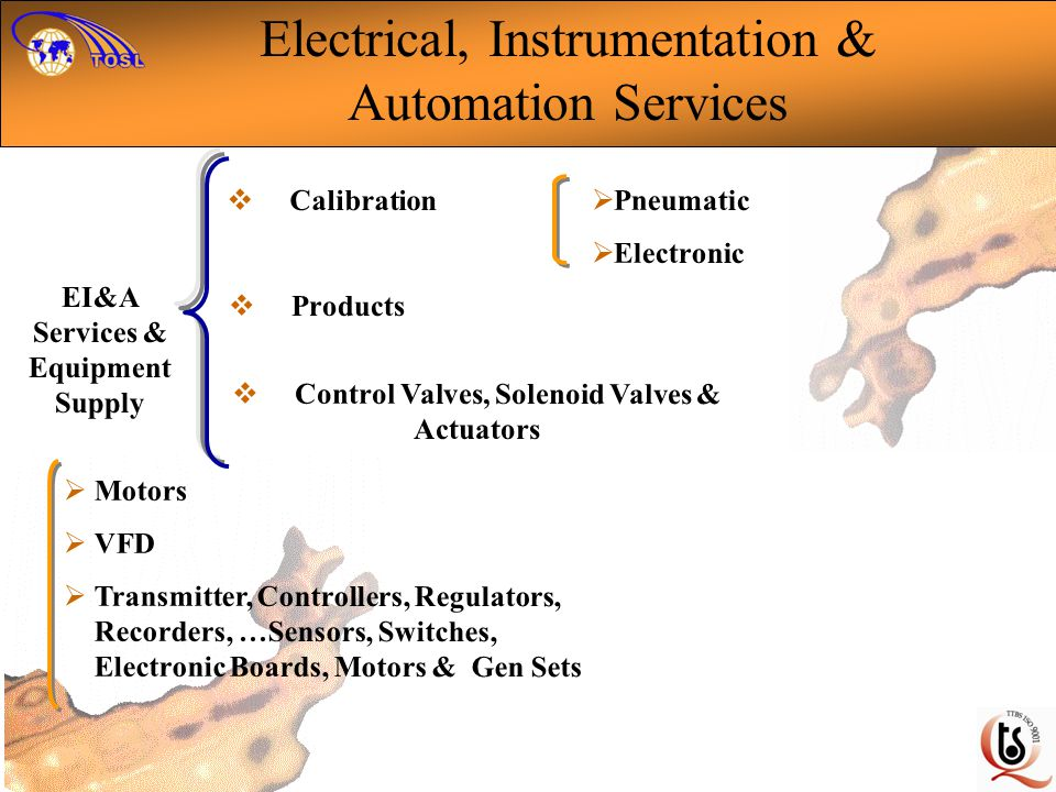 Electrical, Instrumentation & Automation Services
