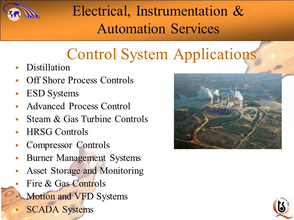 Control System Applications