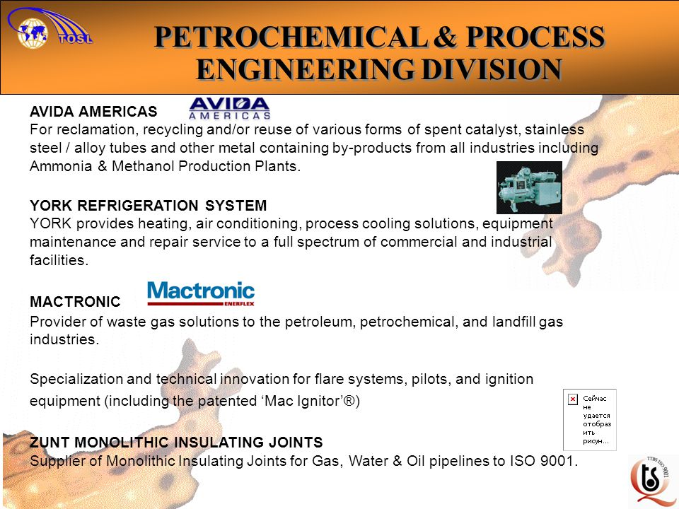 PETROCHEMICAL & PROCESS ENGINEERING DIVISION