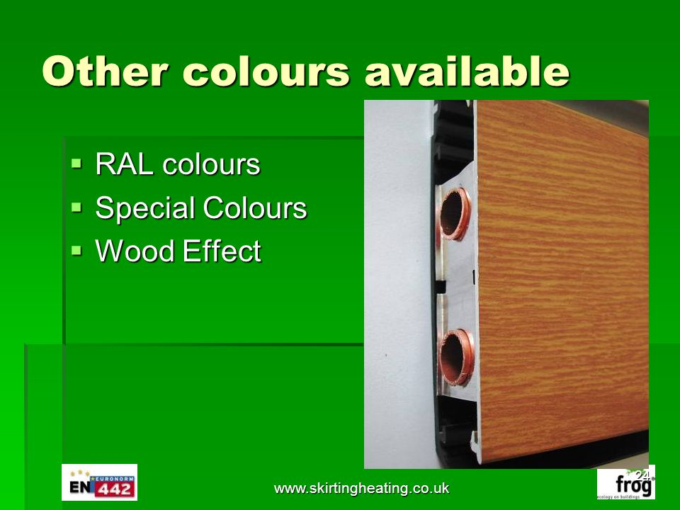 Other colours available