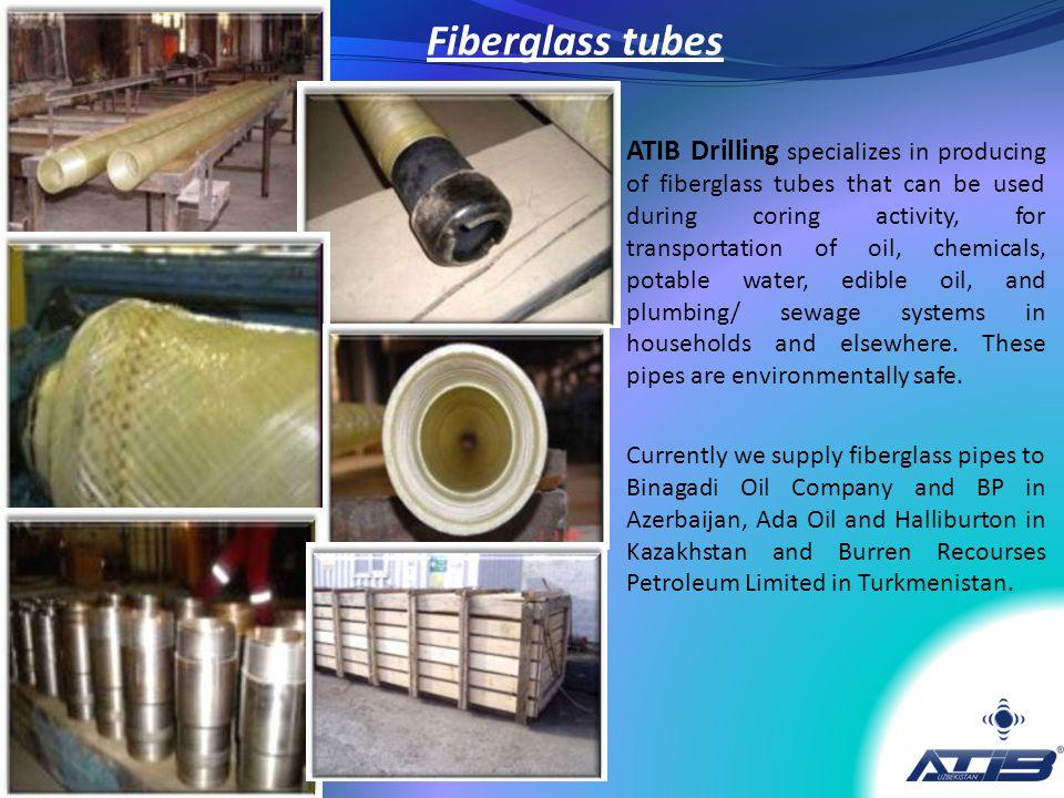 Fiberglass tubes