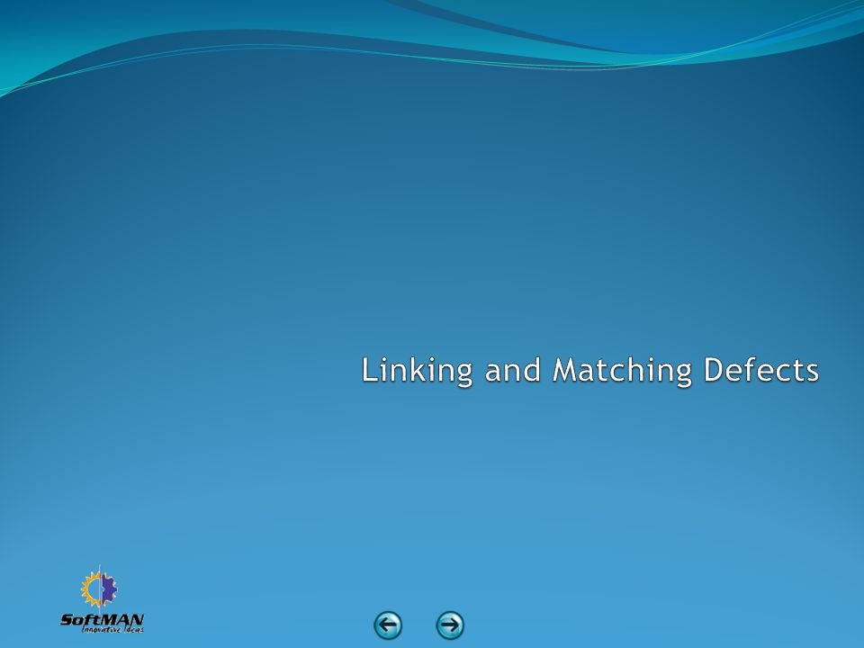 Linking and Matching Defects