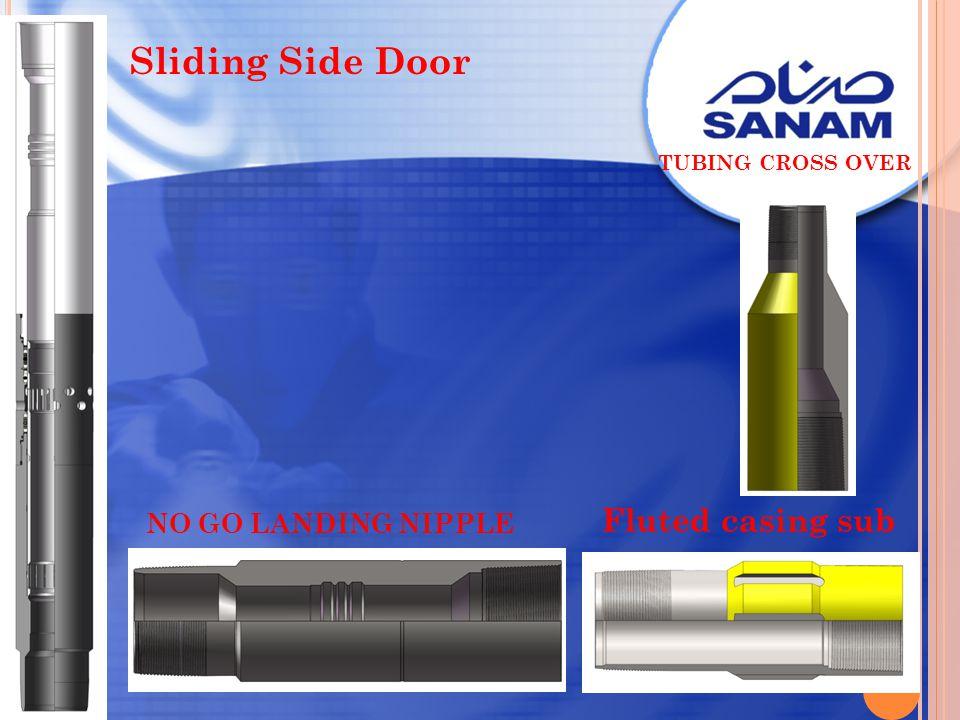 Sliding Side Door Fluted casing sub NO GO LANDING NIPPLE